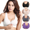 Women Zipper Push Up Sports Bras - Best Fitness Wears