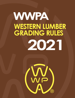Western Lumber Grading Rules 2021