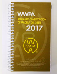 Western Lumber Grading Rules 2017 (Spanish Language-Coil Bound)