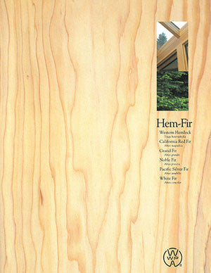 Hem-Fir Species Facts Book