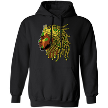 Load image into Gallery viewer, BLACK HISTORY IS KING Pullover Hoodie 8 oz.