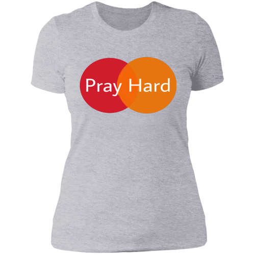 Pray Hard Boyfriend T-Shirt
