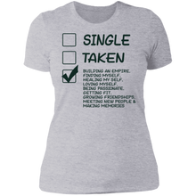 Load image into Gallery viewer, Single Taken Ladies' Boyfriend T-Shirt