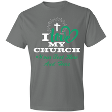 Load image into Gallery viewer, I love my churchT-Shirt 4.5 oz