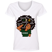 Load image into Gallery viewer, I AM HER CHI  V-Neck T-Shirt