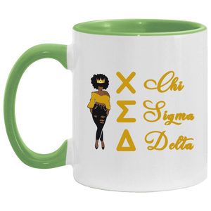FRO QUEEN CHI Accent Mug