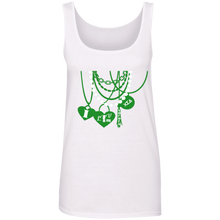 Load image into Gallery viewer, I luv my sorors Cotton Tank Top