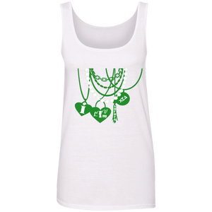 I luv my sorors Cotton Tank Top