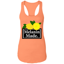 Load image into Gallery viewer, Melanin made Racerback Tank