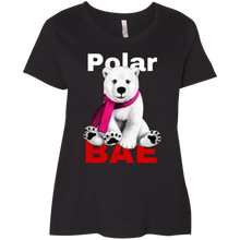 Load image into Gallery viewer, Polar Bae' Curvy T-Shirt