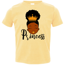 Load image into Gallery viewer, Toddler Princess Jersey T-Shirt