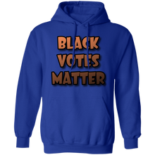 Load image into Gallery viewer, Blk votes matter Hoodie 8 oz.