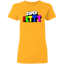 Load image into Gallery viewer, Super PETTY Ladies' 5.3 oz. T-Shirt