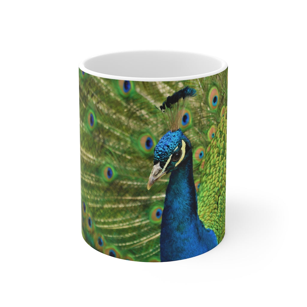 Beautiful Peacock Mug