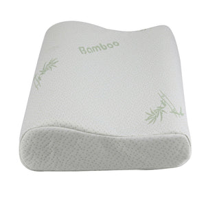 Sleeping Bamboo Pillow Memory Foam Orthopedic