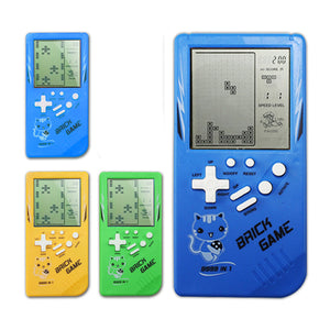 Retro Childhood Tetris Handheld Game Player  (Only Yellow available)