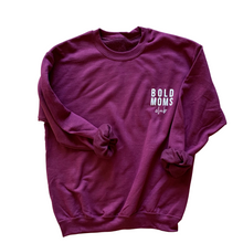 Load image into Gallery viewer, Bold Moms Club Crewneck