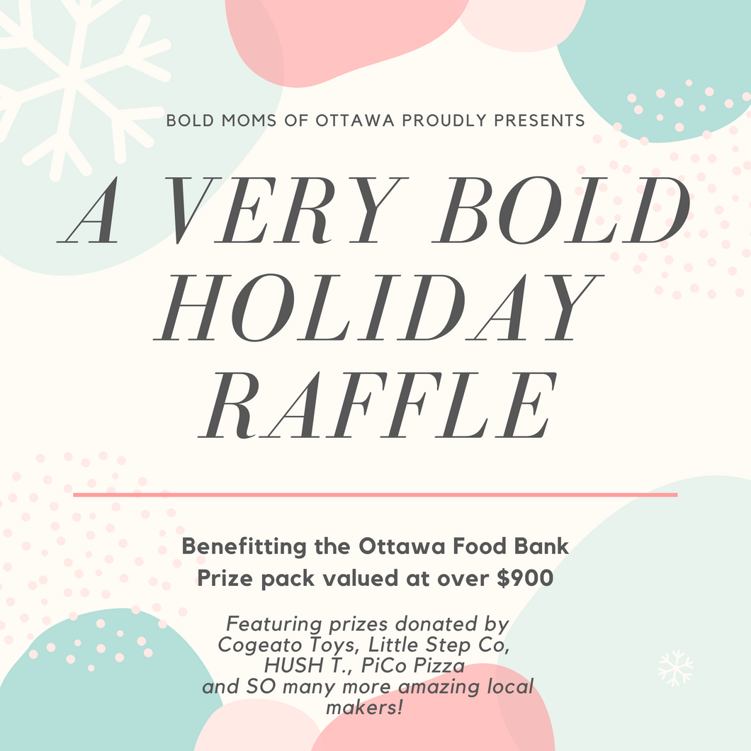 One Bold Holiday Raffle Ticket