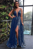 Beautiful Elegant formal party dresses with beaded, fashion prom gowns with beaded 0195