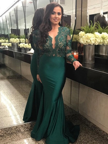 Emerald Green Prom Dress Prom Dresses Evening Gowns KS934