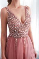 2020 Beading Long Prom Dress, Popular Evening Dress ,Fashion Wedding Party Dress 0105