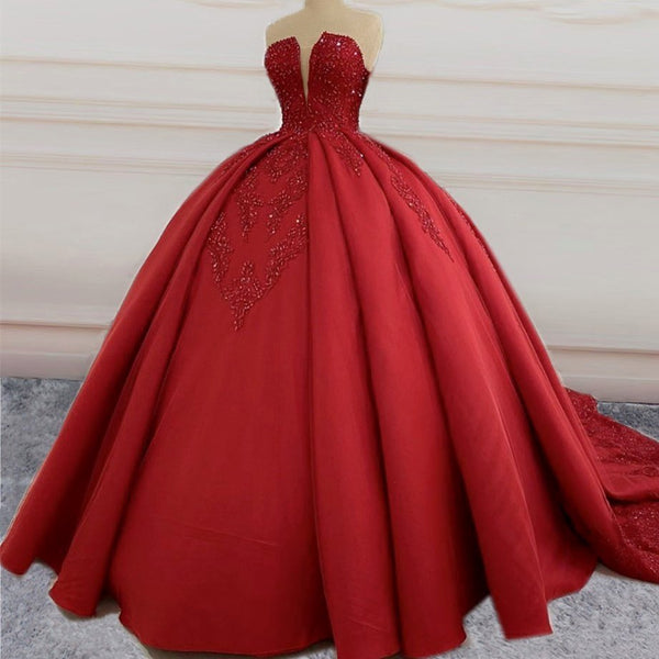 Ball Gown Prom Dress,Princess Sweet 16 Dresses,Party Gowns KS859