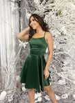 Cute satin short prom dress homecoming dress KS1483