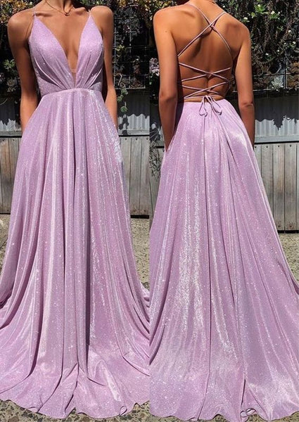 Long Prom Dress,Lilac Backless Popular Evening Dress ,Fashion Wedding Party Dress a007