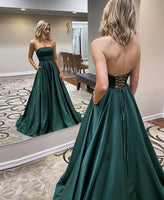Green long prom dress simple evening dress Evening Party Gowns Formal Dress Abendkleider prom dress 1726