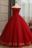 Burgundy tulle lace long prom dress burgundy tulle formal dress B136