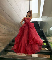 Sexy Elegant A-Line Prom Dresses,Long Prom Dresses,Cheap Prom Dresses, Evening Dress Prom Gowns, Formal Women Dress P01206