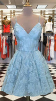 Blue Homecoming Dresses, Short Homecoming Style P01597