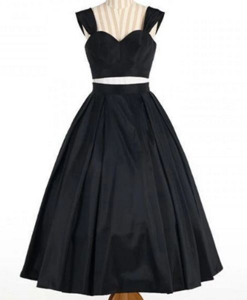 A-Line Off-the-Shoulder Short Black Homecoming Dress,Simple Homecoming Dresses P4052
