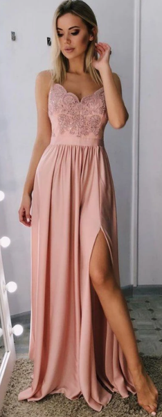 Sexy Prom Dresses Long, Evening Dress, Dance Dress, Graduation School Party Gown P7213