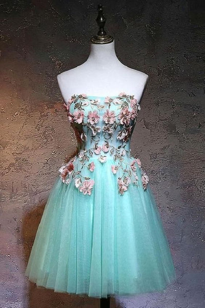 Cute Homecoming Dress,Pretty Graduation dress,Lace Homecoming Dresses P7292