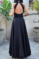 2019 Popular black Long Prom Dress Sexy Evening Party Dress cg3591