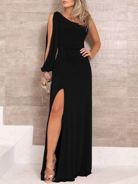 2019 Long Prom Dresses with side slit cg3603