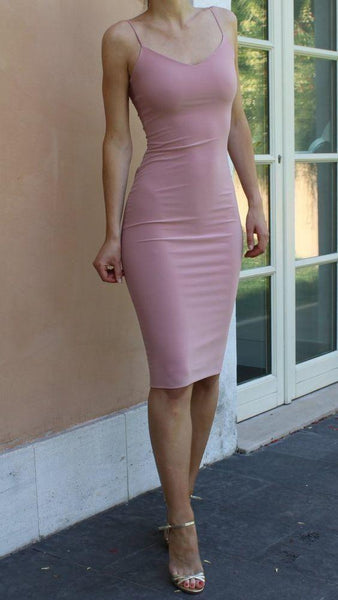 Simple Prom Dress, Special Occasion Dresses,tight pink party Dresses   cg6602