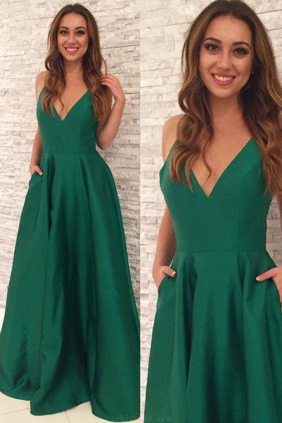 Cheap Excellent Long Prom Dresses, Prom Dresses Green, Prom Dresses  cg6662