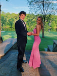 2020 pink Prom Dress, Long Prom Dress, Simple Prom Dress cg6703