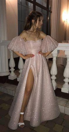 princess pink long prom dresses, off the shoulder graduation party dresses  cg6838
