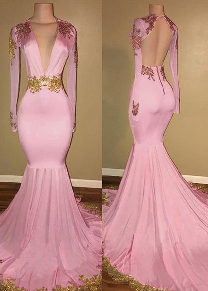 Exquisite Tulle Spandex V-neck Neckline Floor-length Mermaid Evening prom Dresses With Beaded Lace Appliques  cg7217