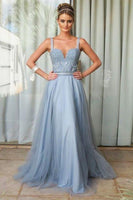 lace,chiffon prom dress simple prom dress  cg7354
