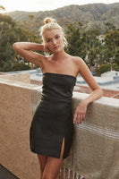 Strapless Strap Black Homecoming Dress £¬ Charming Party Dress  cg7391