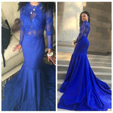 D1303,sexy plus size long sleeve prom dresses african royal blue prom dresses