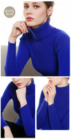 Turtleneck Women Cashmere Sweater Women Winter Sweaters Ladies Warm Winter Woman Sweater Knitting Pullovers Female Sweater