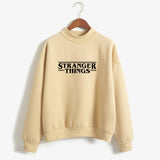 Hoodies Stranger Things Women Hoodie Fleece Harajuku Sweatshirts Autumn Winter Hip Hop Letters Print Hoodies Sweatshirt