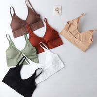 Women Push Up Bra Bras Fitness Tops Brassiere Bralette Female Tube Top Underwear Bralet