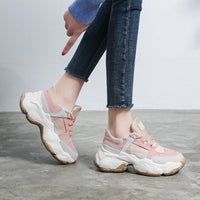 High Quality Trainers Women's Platform Sneakers Women Shoes Breathable Casual Women Running Chunky Sneakers f366