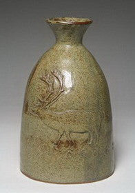 Caribou and Spiritbird Vase, 1975